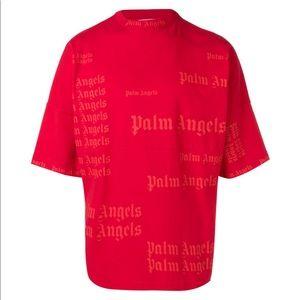 NWT palm angels logo t shirt